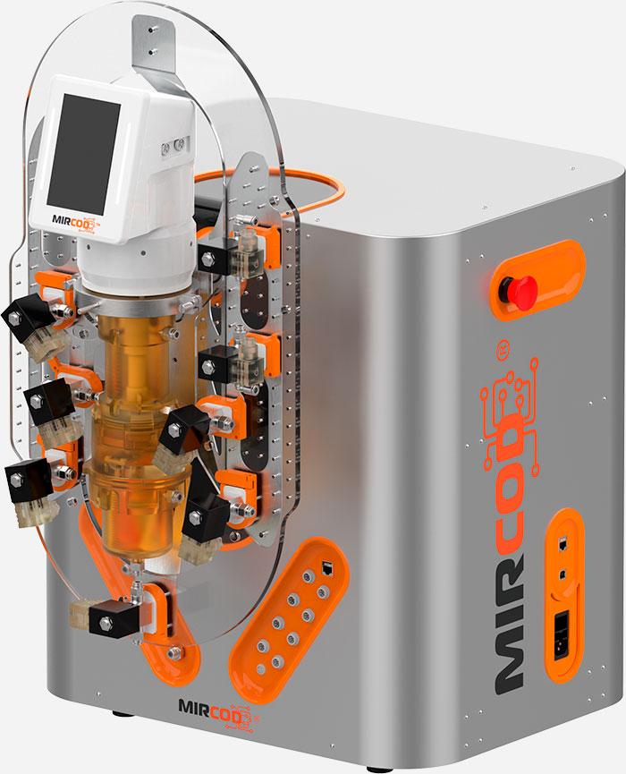 Picture of the concrete sensor